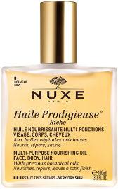 NUXE שמן הפלא - שמן רב שימושי לעור יבש