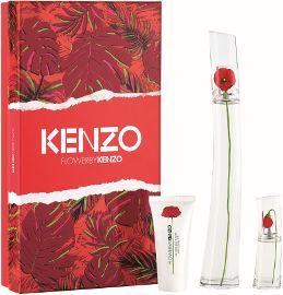 Kenzo FLOWER BY KENZO סט א.ד.פ + א.ד.פ + קרם גוף לאשה