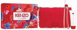Kenzo FLOWER BY KENZO סט א.ד.פ + קרם גוף + תיק רחצה אופנתי לאשה