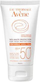 אוון קרם מינרלי +50 SPF הגנה גבוהה לעור רגיש במיוחד