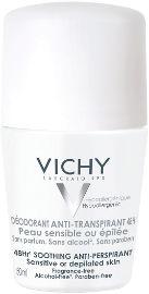 VICHY דאודורנט רול און לעור רגיש אנטי פרספירנט 48 שעות