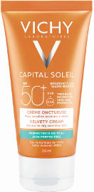 VICHY קרם הגנה לפנים SPF+50 לעור רגיל עד יבש