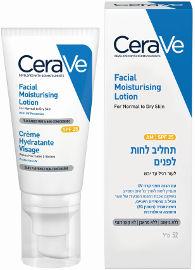 CERAVE תחליב לחות ליום SPF25 רגיל-יבש