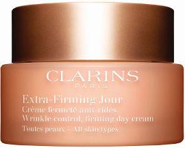 CLARINS EXTRA FIRMING קרם יום לכל סוגי העור + דוגמית קרם לילה