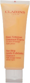 CLARINS ONE STEP EXFOLIATING סבון מקציף וגרגירים לפנים