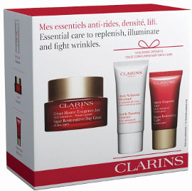 CLARINS MULTI INTENSIVE סט קרם יום + פילינג + קרם לילה