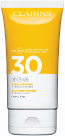 CLARINS קרם המסייע להגנה על הגוף מפני השמש SPF30