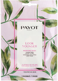PAYOT MORNING MASK מסכת בד על בסיס צמחים - LOOK YOUNGER