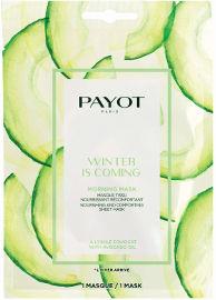 PAYOT MORNING MASK מסכת בד לחות והזנה על בסיס צמחים - WINTER IS COMING
