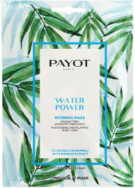 PAYOT MORNING MASK מסכת בד על בסיס צמחים - WATER POWER