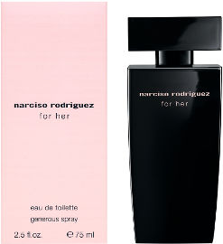 narciso rodriguez FOR HER GENEROUS ספריי א.ד.ט לאשה