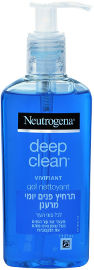 NEUTROGENA  DEEP CLEAN תרחיץ פנים
