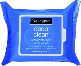 NEUTROGENA DEEP CLEAN מגבונים להסרת איפור