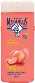 לה פטיט מרסייה תחליב רחצה עדין במיוחד בניחוח אפרסק לבן ונקטרינה