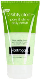 NEUTROGENA  PORE AND SHINE DAILY SCRUB ניקוי גרגירים