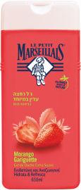 לה פטיט מרסייה ג'ל רחצה עדין במיוחד בניחוח תות