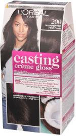 קסטינג קרם גלוס צבע שיער למראה מבריק ועשיר בגוון 200 שחור