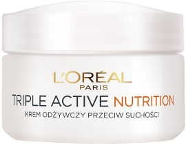 L'OREAL PARIS TRIPLE ACTIVE NOURISH קרם יום