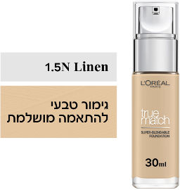 L'OREAL PARIS TRUE MATCH מייק אפ