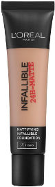 L'OREAL PARIS INFALLIBLE MATTE מייק אפ עמיד 20