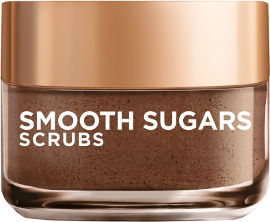 L'OREAL PARIS SMOOTH SUGARS SCRUBS גרגירי פילינג סוכר לאפקט הזנה