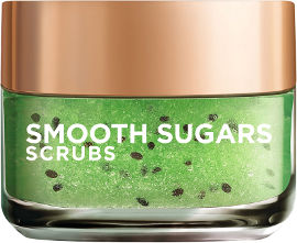 L'OREAL PARIS SMOOTH SUGARS SCRUBS גרגירי פילינג סוכר לטיהור העור