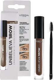 L'OREAL PARIS UNBELIEVA BROW ג'ל לגבות עמיד 105