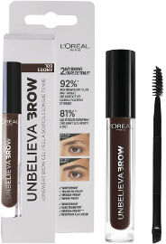 L'OREAL PARIS UNBELIEVA BROW ג'ל לגבות עמיד 109