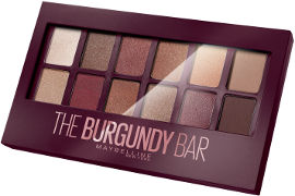 MAYBELLINE THE BURGUNDY BAR צלליות