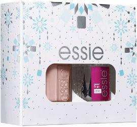 ESSIE מארז טופ + לק בגוון Ballet Slippers