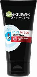 GARNIER PURE ACTIVE CHARCOAL מסכת פחם לטיהור העור