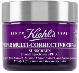 KIEHL'S SUPER MULTI CORRECTIVE קרם לחות אנטי אייג'ינג לפנים SPF30
