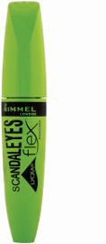 RIMMEL LONDON SCANDALEYES LYCRA FLEX מסקרה שחורה