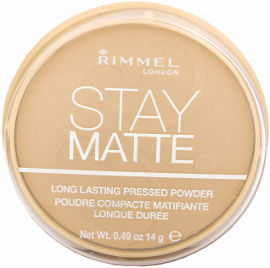 RIMMEL LONDON STAY MATTE פודרה דחוסה