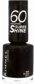 RIMMEL LONDON 60SECONDS SUPER SHINE לק