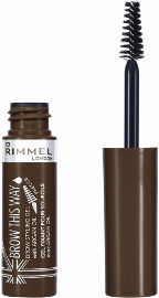 RIMMEL LONDON BROW THIS WAY FIBRE מסקרה ג'ל לגבות 002