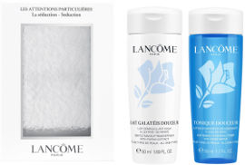 LANCOME LES ATTENTIONS PARTILCULIERES מארז מסיר איפור + מסיר איפור