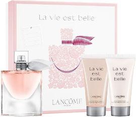 LANCOME La vie est belle סט א.ד.פ + קרם גוף + ג'ל רחצה לאשה