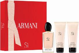 GIORGIO ARMANI Armani si סט א.ד.פ + קרם גוף + ג'ל רחצה לאשה