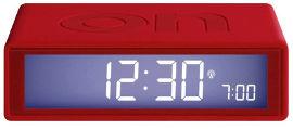 LEXON שעון FLIP אדום