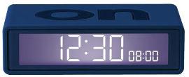 LEXON שעון FLIP TRAVEL כחול כהה