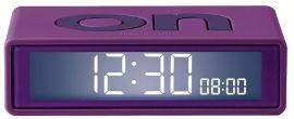 LEXON שעון FLIP TRAVEL סגול