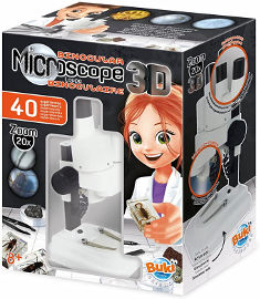 Buki France מיקרוסקופ תלת ממד איכותי