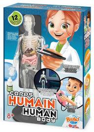 Buki France ערכת מדע לילדים גוף אנושי