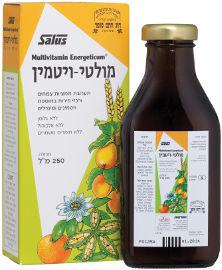 סלוס האוס פלורדיקס מולטי-ויטמין תערובת של ויטמינים עם מיצי פירות ותמציות צמחים
