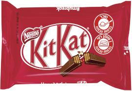 נסטלה קיט קט 4 אצבעות שוקולד חלב