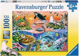 Ravensburger פאזל מתחת למים 10681