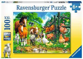 Ravensburger פאזל חיות המשק יחד 10689