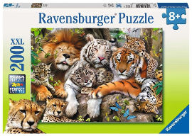 Ravensburger פאזל נמרים 12721