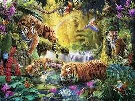 Ravensburger פאזל טייגרים בג'ונגל 16005